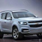 Новый Chevrolet Trailblazer (Шевроле Трейлблейзер) 1