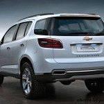 Новый Chevrolet Trailblazer (Шевроле Трейлблейзер) 2