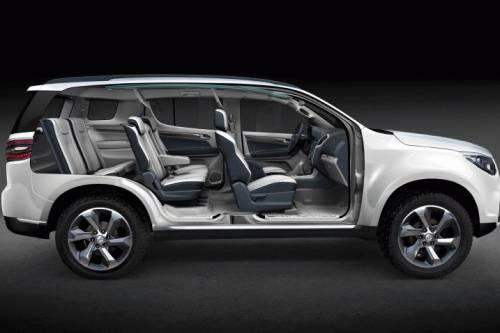 фото Chevrolet Trailblazer 2013 салон