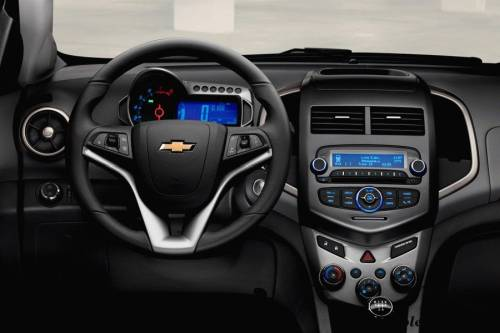 салон Chevrolet Aveo 2013