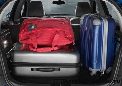 багажник Chevrolet Aveo 2013