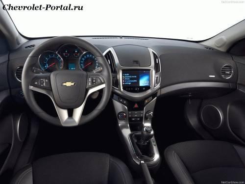 Салон Chevrolet Cruze Универсал 2013