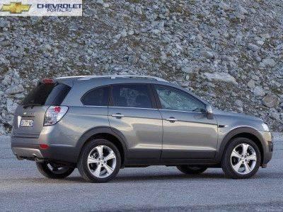 Chevrolet Captiva 2013 вид сбоку