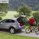 Chevrolet Captiva 2013 багажник