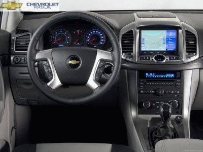 Chevrolet Captiva 2013 фото салона