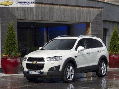 фото Chevrolet Captiva 2013 белый