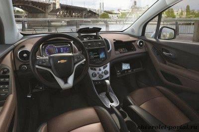 Фото салона Chevrolet Tracker 2013