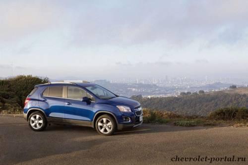Тест-драйв Chevrolet Tracker 2013 года