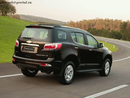 Тест-драйв Chevrolet Trailblazer 2013