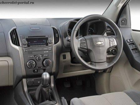 панель приборов Chevrolet Trailblazer 2013