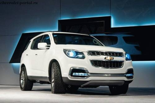 Chevrolet Trailblazer 2013 года