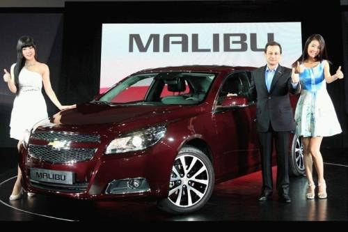 Chevrolet Malubu 2012 отзыв