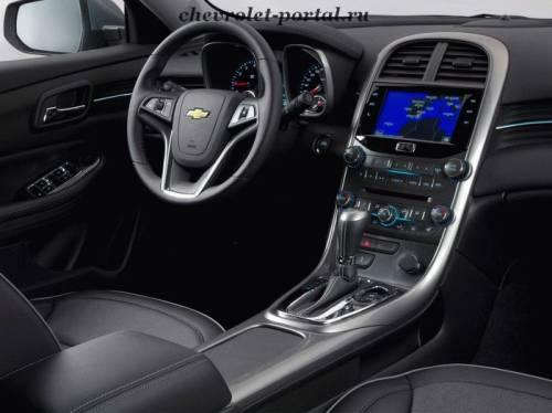 Chevrolet Malubu 2012 панель