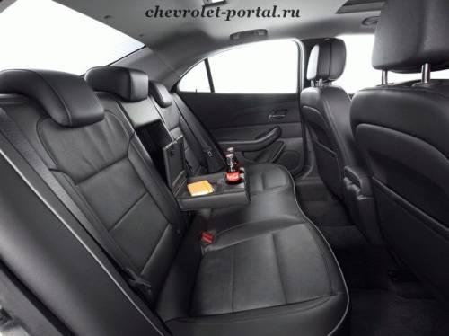 Chevrolet Malubu 2012 фото салона