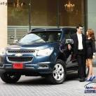 бирюзовый Chevrolet Trailblazer 2014
