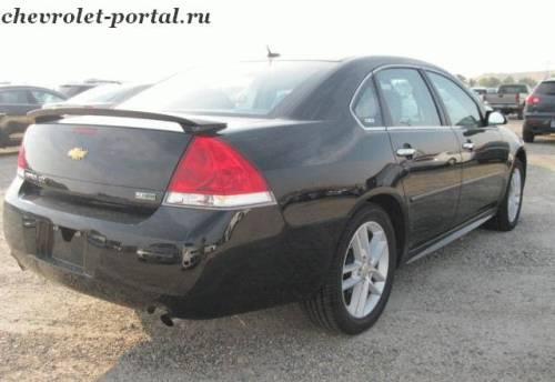 Отзыв chevrolet impala 2012