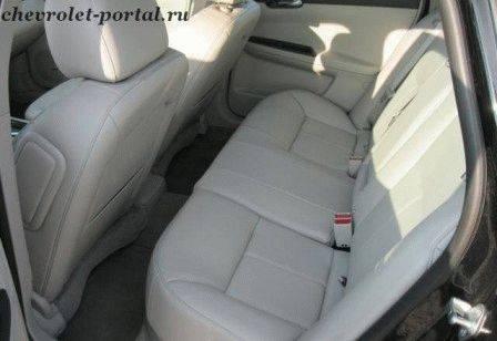 фото салона chevrolet impala 2012
