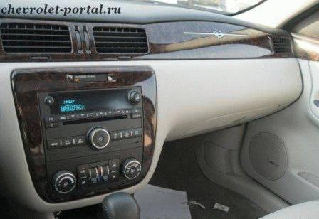 салон chevrolet impala 2012