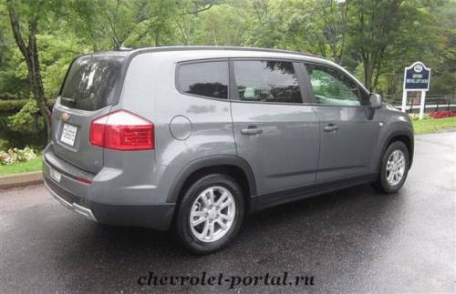 Отзыв Chevrolet Orlando 2013 года