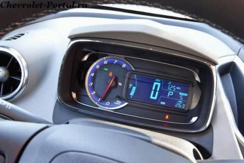 2014-Chevrolet-Trax спидометр