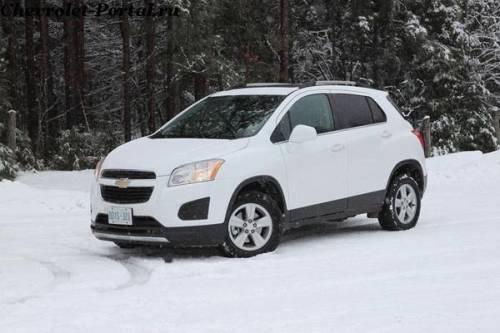 2014-Chevrolet-Trax дизайн