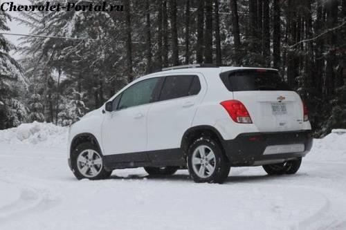 2014-Chevrolet-Trax внешний вид