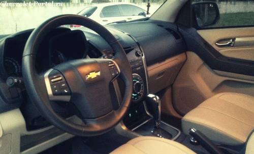 Chevrolet Trailblazer 2014 место водителя