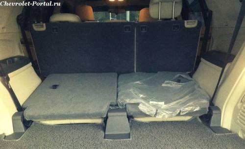 Chevrolet Trailblazer 2014 багажник