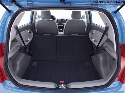 Kia Picanto 2014 багажник