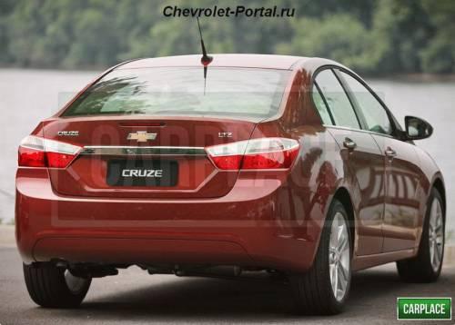 Новый Chevrolet Cruze 2014 года