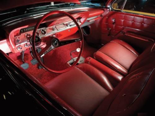 impala 1962 салон