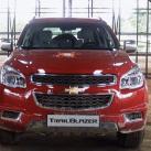 Обновленный внедорожник Chevrolet Trailblazer 2014 года