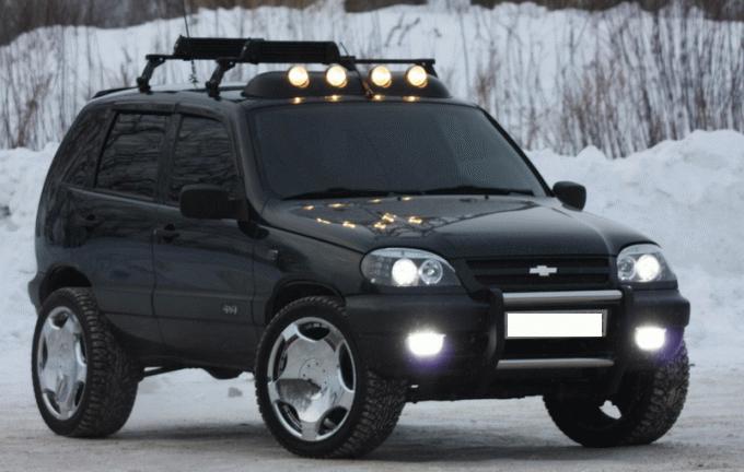 Тюнинг Chevrolet Niva