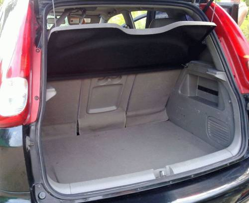 Шевроле Реззо багажник