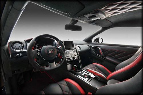 2012 Nissan GT-R by Vilner Studio - interior design