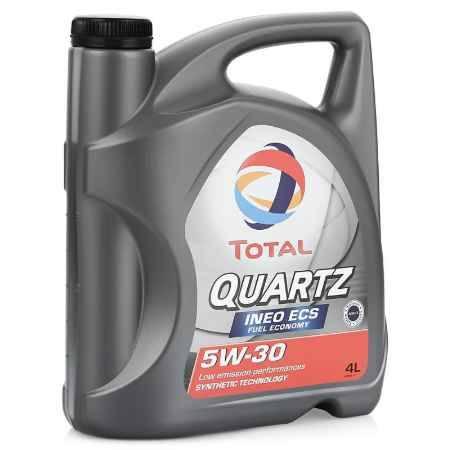 Купить Моторное масло Total Quartz Ineo ECS 5W/30, 4 л, синтетическое