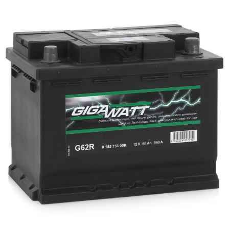 Купить Аккумулятор GIGAWATT G62R 560 408 054 - 60 Ач