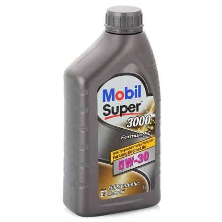 Купить Моторное масло Mobil SUPER 3000 X1 FORMULA FE 5W/30, 1 л, синтетическое