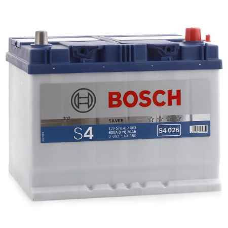 Купить Аккумулятор BOSCH S4 Silver 570 412 063
