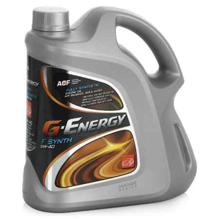 Купить Моторное масло G-Energy F Synth 5W-40, 4л
