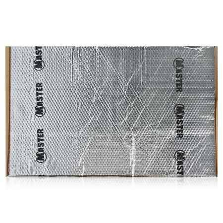 Купить Шумоизоляция Вибропласт M4 0,75x0,47м, толщина 4 мм, 5 листов