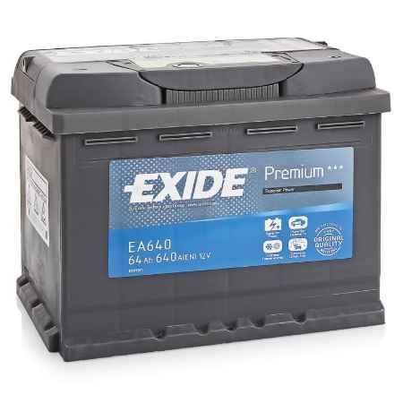 Купить Аккумулятор EXIDE Premium EA640 12V 64Ah 640A R+