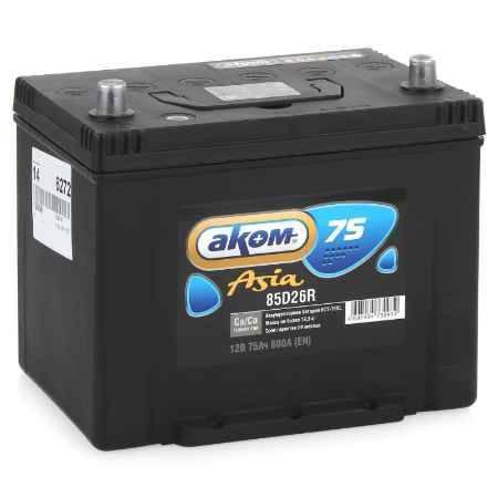 Купить Аккумулятор Аком Asia 75Ah 600 L+