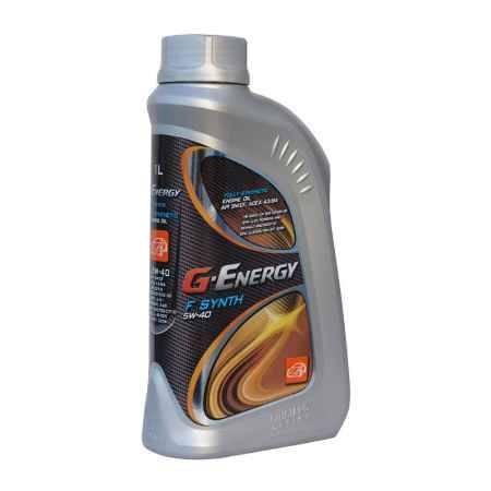 Купить Моторное масло G-Energy F Synth 5W40, 1л синтетическое
