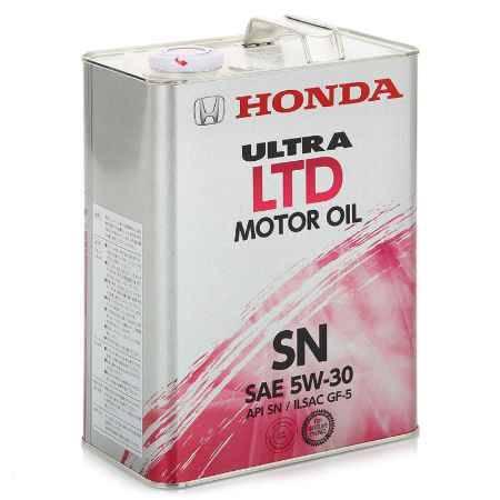 Купить Моторное масло HONDA Ultra LTD API SAE 5W/30 SN/GF-5, 4 л (08218-99974)