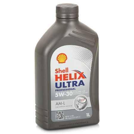 Купить Моторное масло Shell Helix Ultra Professional AM-L 5W/30, 1 л, синтетическое
