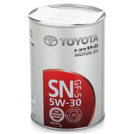 Купить Моторное масло TOYOTA Motor Oil SAE 5W/30 SN GF-5, 1 л (08880-10706)