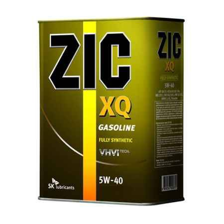 Купить Моторное масло ZIC XQ 5W/40 SN, 4 л, синтетическое