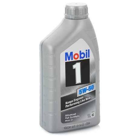 Купить Моторное масло Mobil 1 5W/50, 1 л, синтетическое