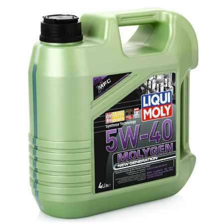 Купить Моторное мото масло LIQUI MOLY Molygen New Generation 5W/40 SN/CF;A3/B4, 4 л, НС-синтетическое (9054)